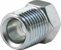 "Brake Fittings, Lines and Hoses - Inverted Flare Nut Brake Adapters - Allstar Performance - Allstar Performance 1/4"" Inverted Flare Nuts - 7/16""-24"" Zinc Plated"