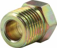 "Brake Fittings, Lines and Hoses - Inverted Flare Nut Brake Adapters - Allstar Performance - Allstar Performance 1/4"" Inverted Flare Nuts - 1/2""-20 Gold"