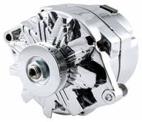 Alternator - Alternators - Allstar Performance - Allstar Performance GM Single Wire Chrome Alternator