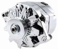Alternator - Alternators - Allstar Performance - Allstar Performance GM Single Wire Chrome Alternator