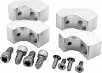 Wire Looms & Separators - Spark Plug Wire Looms - Allstar Performance - Allstar Performance Mounting Kit for Centerbolt Covers Polished Aluminum Wire Looms