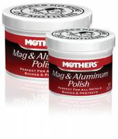 Car Care and Detailing - Wheel Cleaners & Polish - Mothers - Mothers® Mag & Aluminum Polish - 5 oz.