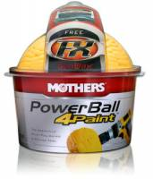 Paint & Finishing - Polishing Cloths & Pads - Mothers Polishes-Waxes-Cleaners - Mothers® PowerBall 4Paint®