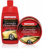 Paint & Finishing - Car Polish & Wax - Mothers Polishes-Waxes-Cleaners - Mothers® California Gold® Carnauba Cleaner Wax - 12 oz. Paste