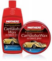 Car Care and Detailing - Car Wax & Polish - Mothers - Mothers® California Gold® Pure Carnauba Wax Step 3 - 16 oz. Liquid