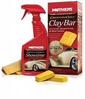 Paint & Finishing - Car Polish & Wax - Mothers Polishes-Waxes-Cleaners - Mothers® California Gold® Clay Bar System