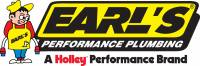 Earl's Performance Products - Pipe Thread to Hose Barb Adapters - 45° Pipe Thread to Hose Barb