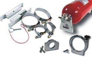Safety Equipment - Fire Extinguishers - Fire Extinguisher Mounting Brackets