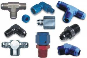 Fittings & Hoses - Pipe Thread to AN Adapters