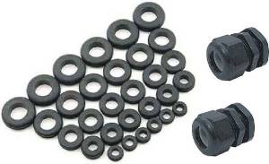 Gaskets and Seals - O-rings, Grommets and Vacuum Caps - Firewall Grommets