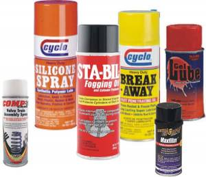 Oil, Fluids & Chemicals - Spray Lubricant