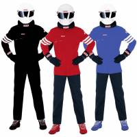 SFI-1 Rated Single Layer Suits - Shop All SFI-1 Auto Racing Suits - Simpson Race Products - Simpson STD.6 Nomex® Racing Suit - 2-Piece Design