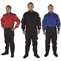 Crew Apparel - Crew Mechanics Suits - G-Force Racing Gear - G-Force GF125 Pyrovatex Racing Suit
