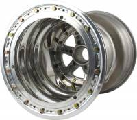 "Mini Sprint Parts - Keizer Aluminum Wheels - Keizer Micro Sprint Direct Mount Beadlock Wheel - 10"" x 7"" - 3"" Back Spacing"