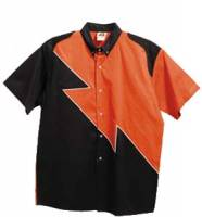 Spoiler Crew Shirt - Orange / Black