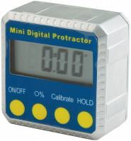 "Measuring Tools & Levels - Angle Finders & Levels - Allstar Performance - Allstar Performance Mini Digital Level / Protractor - 2"" x 2"""