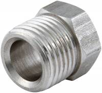 "Fuel System Fittings & Filters - Fuel Line Inverted Flare Nuts - Allstar Performance - Allstar Performance Inverted Flare Nuts - Stainless Steel - 3/8"" (4 Pack)"
