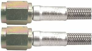 Fittings & Hoses - Brake Line Hoses - #3 Braided Steel Hose With -3AN Straight Ends