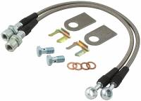 Brake Hoses - Brake Line Hose Kits - Allstar Performance - Allstar Performance GM Metric D.O.T Brake Hose Kit - 10mm-1.50 Bolts