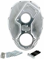 Engine Accessories - Water Pump / Front Cover - Allstar Performance - Allstar Performance Sprint Billet Raised Cam Timing Cover
