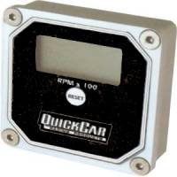 Digital Gauges - Digital Tachometers - QuickCar Racing Products - QuickCar QuickTach Digital LCD Recall Tachometer - Black