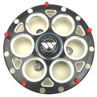 "Front End Components - Front Hubs - Weld Racing - Weld 13""/15"" Black Magnum Hub w/ Rotor Mount"