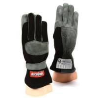 SFI 1 Rated Gloves - RaceQuip 351 Series Gloves - RaceQuip - RaceQuip 351 Driving Gloves - Black - Medium