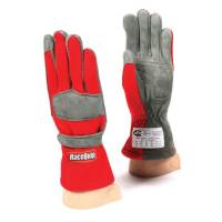 SFI 1 Rated Gloves - RaceQuip 351 Series Gloves - RaceQuip - RaceQuip 351 Driving Gloves - Red - Large
