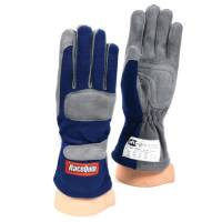 SFI 1 Rated Gloves - RaceQuip 351 Series Gloves - RaceQuip - RaceQuip 351 Driving Gloves - Blue - X-Large
