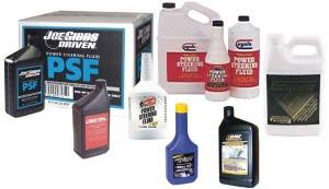 Chassis & Suspension - Steering Components - Power Steering Fluids
