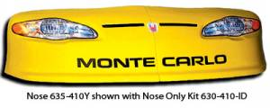 Dirt Late Model - Dirt Late Model Noses and Fenders - Universal Dirt Noses