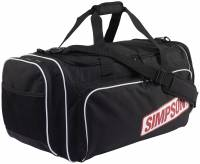 Crew Apparel - Gear Bags - Simpson Race Products - Simpson Duffel Bag - Black