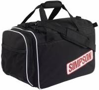 Crew Apparel - Gear Bags - Simpson Race Products - Simpson Deluxe Helmet Bag - Black