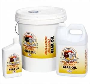Oils, Fluids and Additives - Gear Oil - DMI Bulldog Blood Synthetic Gear Oil