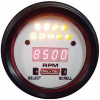 Tachometers - Digital Tachometers - QuickCar Racing Products - Quickcar Extreme LCD Digital Tachometer