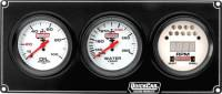 Dash Panels w/ Tachometer - 2 Gauge Dash Panels w/ Tach - QuickCar Racing Products - Quickcar Extreme 2-1 Gauge Panel