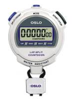 Tools & Pit Equipment - Robic - Robic OSLO Silver 2.0 Twin Chronograph & Countdown Timer