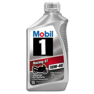 Motor Oil - Mobil 1 Motor Oil - Mobil 1 Racing 4T Motorcycle Oil