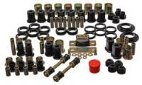 Bushings - Master Bushing Sets - Energy Suspension - Energy Suspension Hyper-Flex Bushing Master Set - Polyurethane - Black - 64-72 GM Vehicles