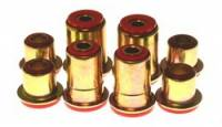 Control Arm Bushings - Polyurethane Bushings - Energy Suspension - Energy Suspension Front Control Arm Bushings - Red - Fits 66-72 Buick (w/ All Around Bushings), 67-69 Camaro, Firebird, 67-72 Chevelle, Monte Carlo (With All Around Bushings), 68-74 Nova