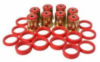 Chevrolet Chevelle Suspension and Components - Chevrolet Chevelle Rear Control and Trailing Arm Bushings - Energy Suspension - Energy Suspension Rear Control Arm Bushings - Fits 66-87 Century, 67-88 Chevelle - Monte Carlo - Red