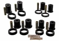 Ford Mustang (4th Gen) Suspension and Components - Ford Mustang (4th Gen) Bushings and Mounts - Energy Suspension - Energy Suspension Rear Control Arm Bushing Set - Black - Fits 1994-98 Ford Mustang, Mercury Capri
