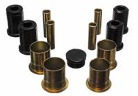 Control Arm Bushings - Polyurethane Bushings - Energy Suspension - Energy Suspension Front Control Arm Bushing Set - Black - Fits 1985-93 Ford Mustang, Mercury Capri