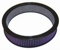 """Universal Round Air Filters - 14"""" Round Air Filters - K&N Filters - K&N Performance Air Filter - 14"""" x 3-1/16"""" - Universal"""