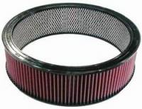 """Universal Round Air Filters - 14"""" Round Air Filters - K&N Filters - K&N Performance Air Filter - 14"""" x 4"""" - Universal"""