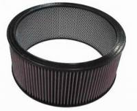 "Air Filter Elements - Universal Air Filters - K&N Filters - K&N Air Filter Element w/ Wire Reinforcement - 14"" x 6"""