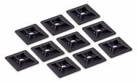 "Tools & Pit Equipment - Wire Ties - Allstar Performance - Allstar Performance Wire Tie Mounting Base - 1-1/8"" x 1-1/8"" (10 Pack)"