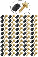 Installation Accessories - Body Bolt Kits - Allstar Performance - Allstar Performance Body Bolt Kit - Gold Bolts/Black Clips (50 Pack)
