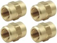 "Pipe Thread to Pipe Thread Adapters - Female Pipe Thread Couplers - Allstar Performance - Allstar Performance 1/8"" NPT Female Union (4 Pack)"