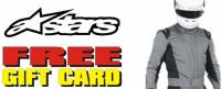 Alpinestars Suit Free eGift Card Promotion
